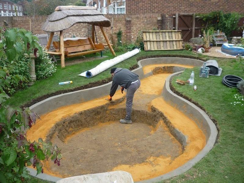 Как сделать естественный пруд на даче и другие вопросы…