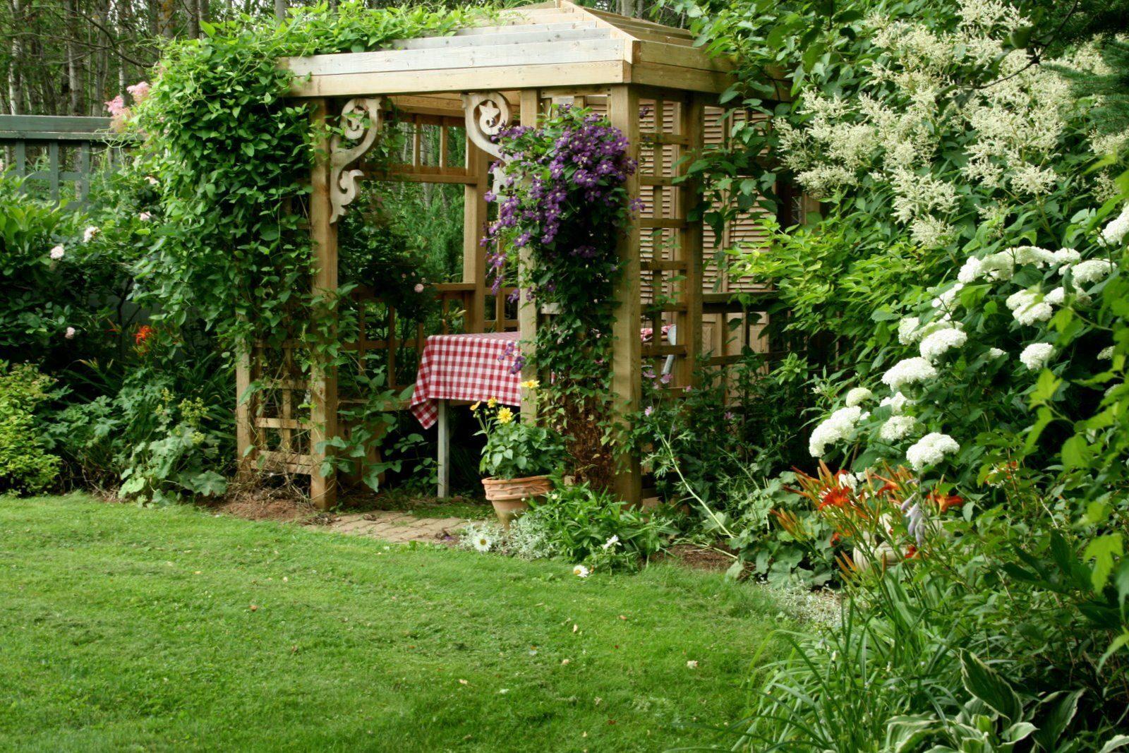 Как сделать уютный сад 84